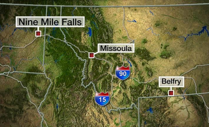 Robert James LeCou was arrested in Nine Mile Falls northwest of Spokane for the murder of three people in Belfry.