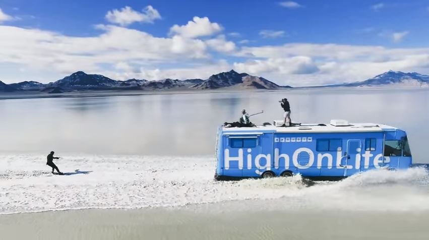 """""""Epic Surfing in the Salt Flats!!"""" (from YouTube)"""