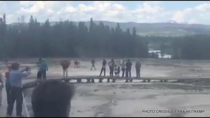 Man Identified in Yellowstone Geyser Death