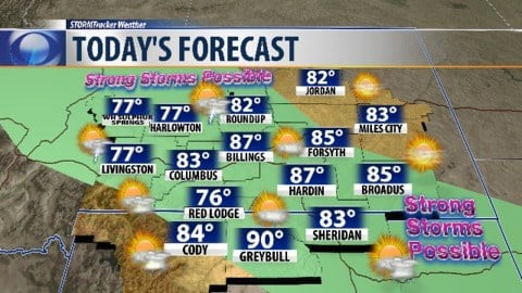 Wichita weather: Pleasant day early before storm chances return