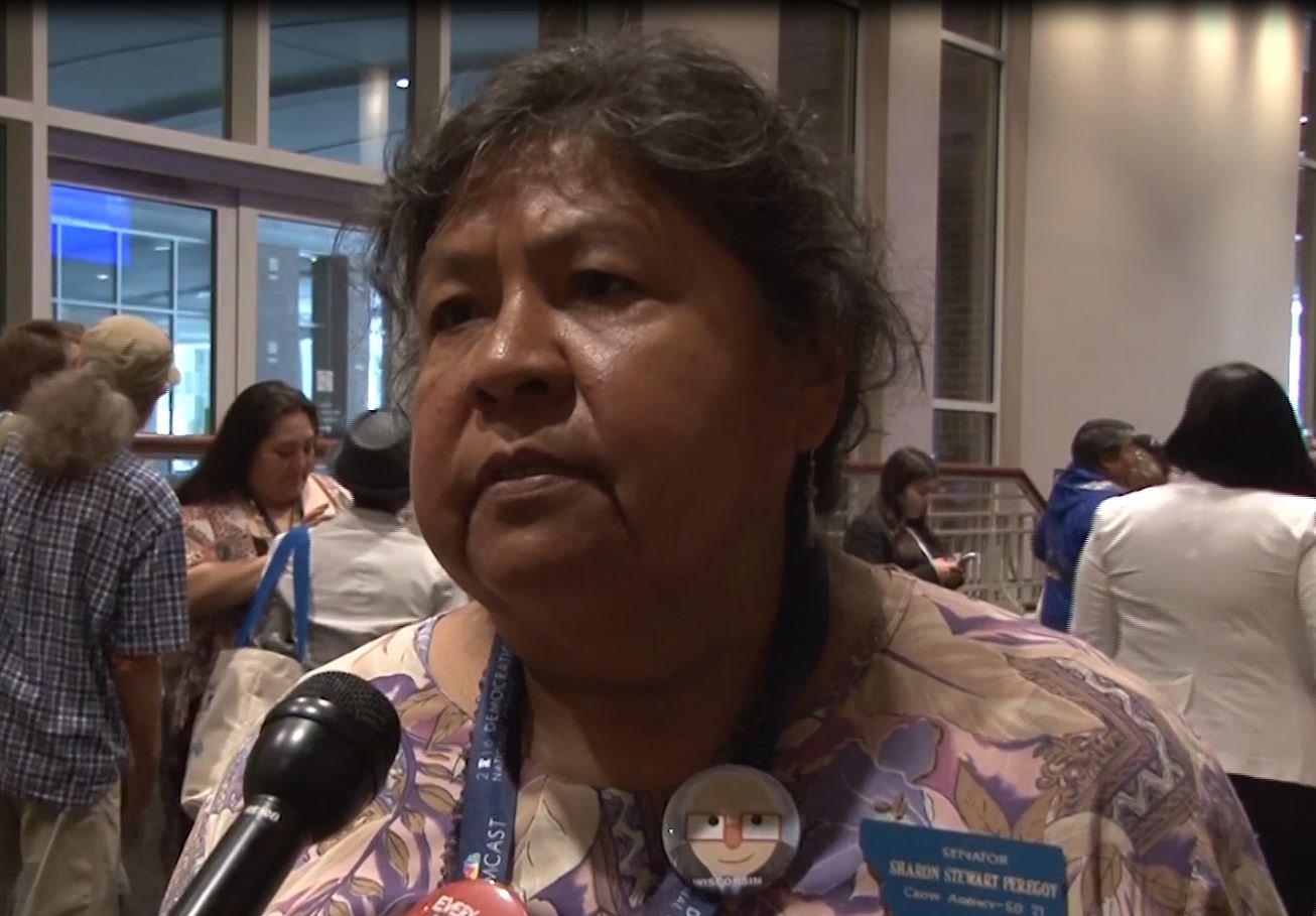 Sharon Peregoy, Native American and Montana activist. (MTN News)