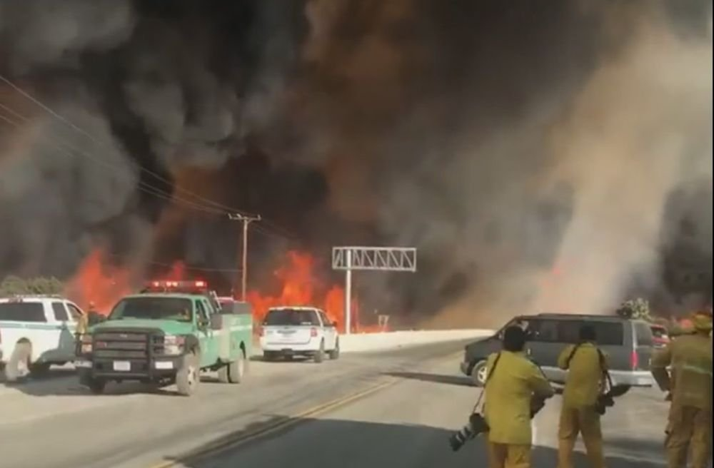 More of Highway 138 reopens as firefighters battle Blue Cut fire