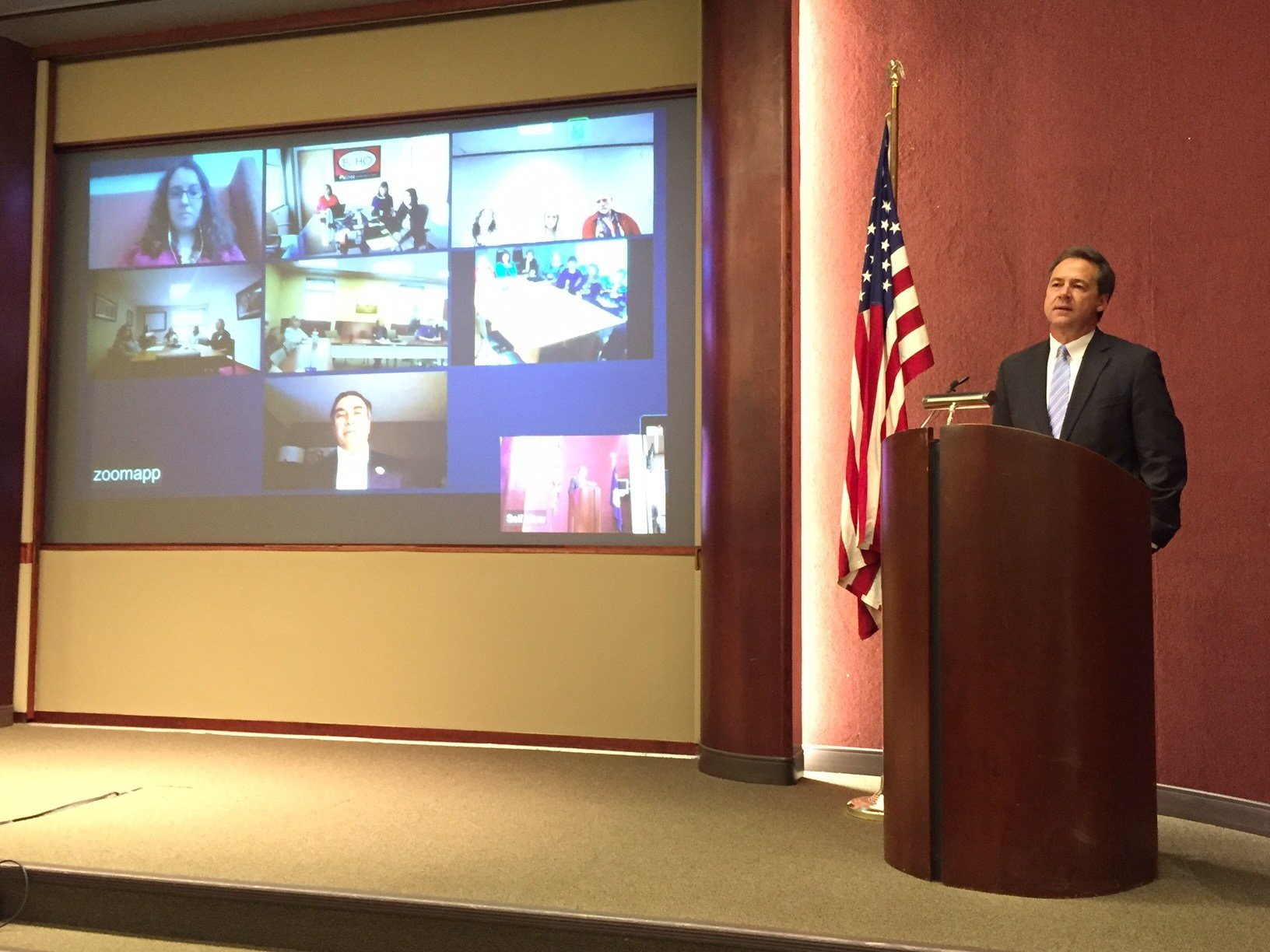 Governor Bullock announces support for new mental health project