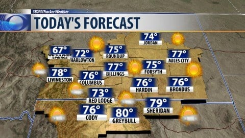 Sunny forecast continues Thursday in metro