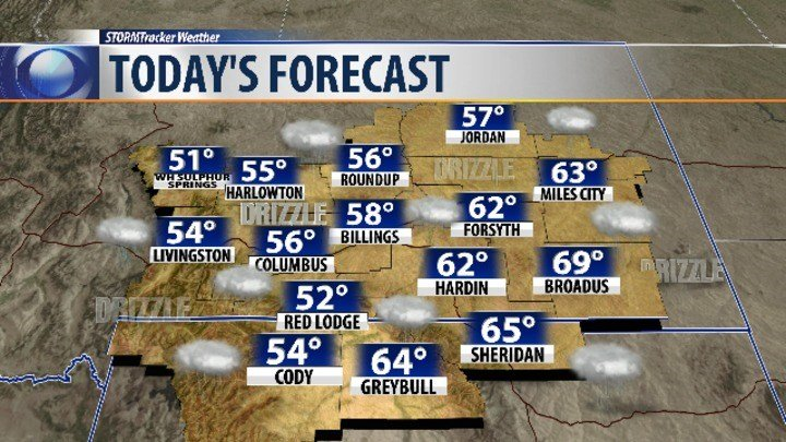 Cooler Temps, Rain Chances in the Upcoming Weekend Forecast