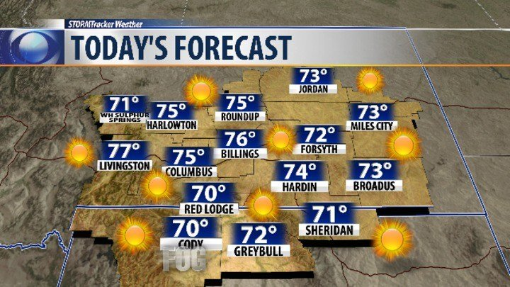 Wednesday forecast: Much cooler today but still pleasant