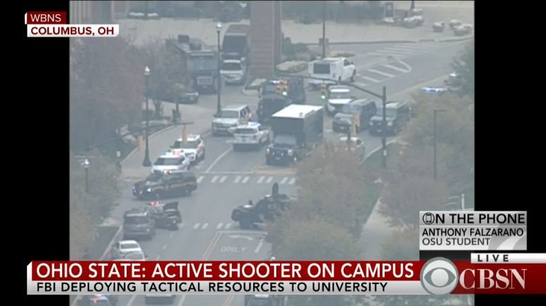 Ohio State shooting: At least 7 hospitalized after active shooter reporter