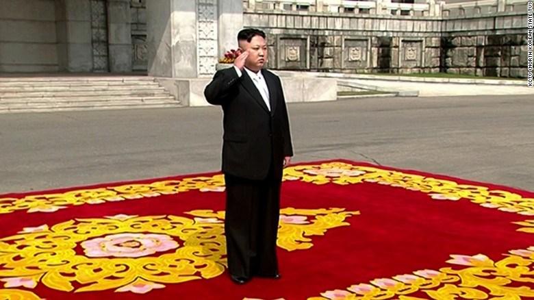 North Korea displays suspected ICBM during massive military parade