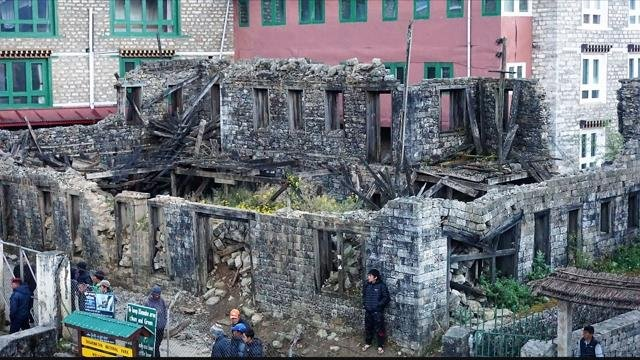 Nepal has been slow to repair itself after a magnitude 7.8 earthquake struck the area in April 2015.