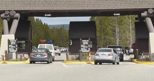 Yellowstone National Park is open for tourism (MTN News photo)