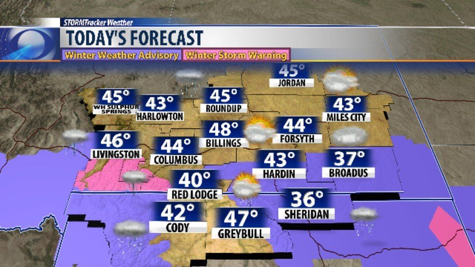More rain and snow in forecast