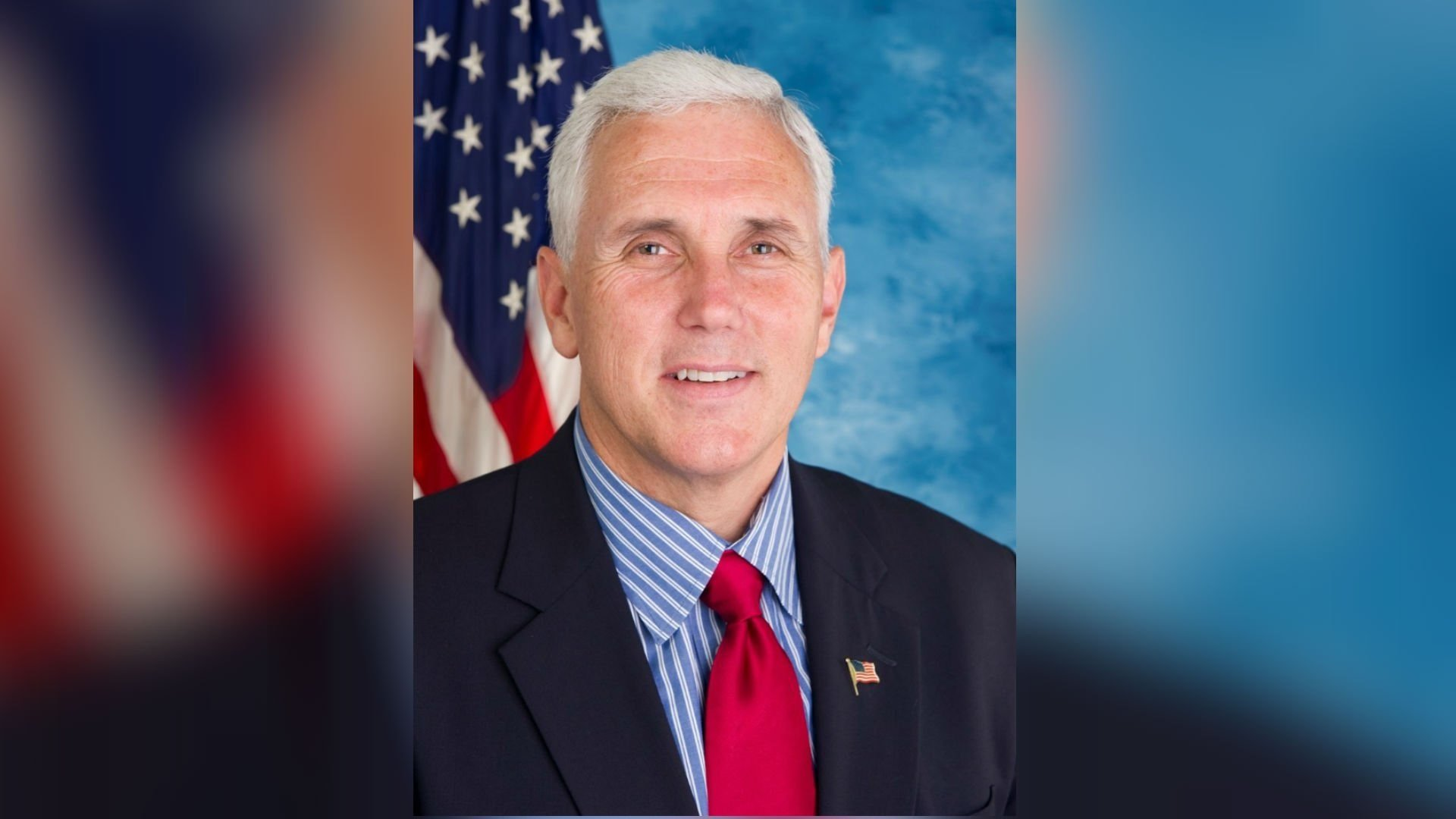 President Pence accidentally hits boy in the face