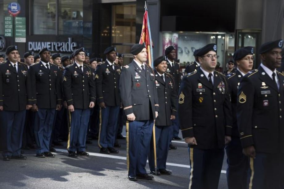 US Army personnel in uniform. (©iStockphoto.com/Glynnis Jones)