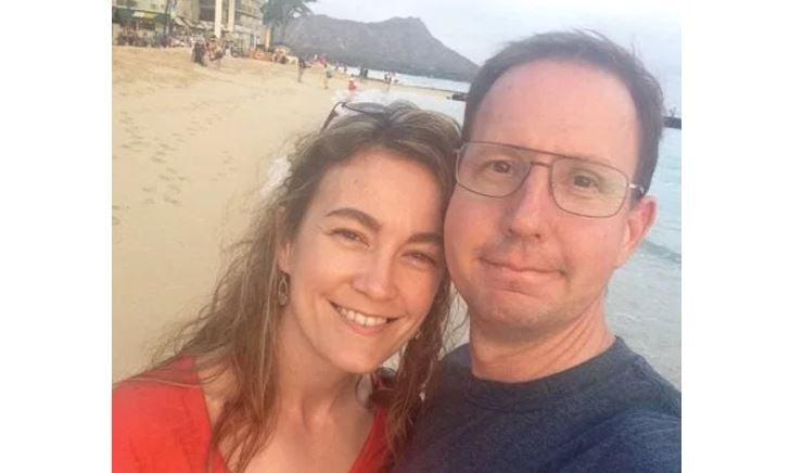 Elizabeth Stacy and John Paul Farrar (credit: Facebook)