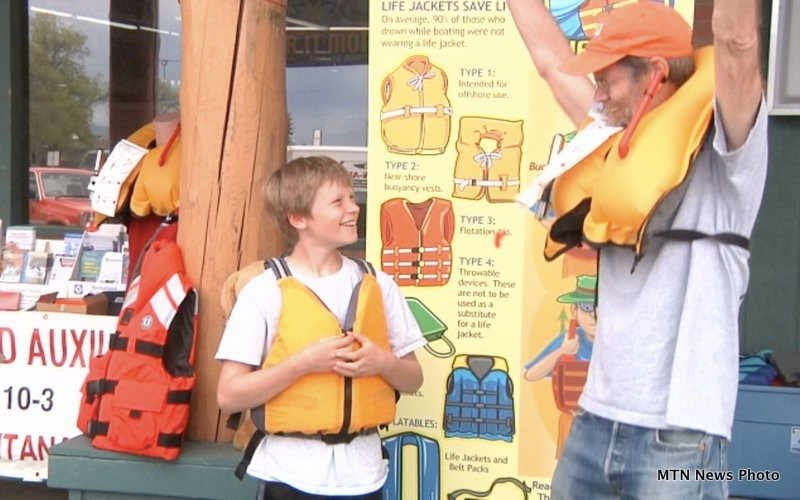The event was part of National Boat Safety Week
