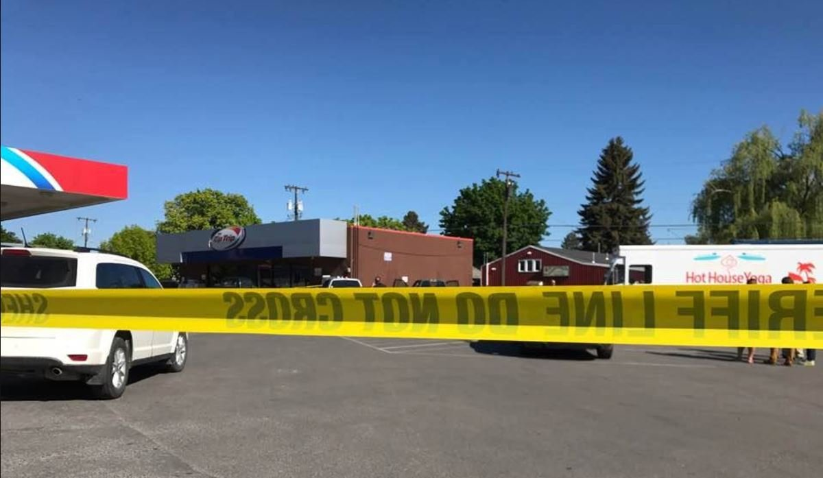 A man was shot in the head on West Broadway in Missoula early Monday. (Kent Luetzen/MTN News photo)