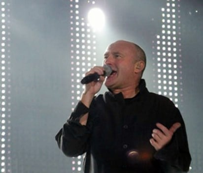 Fans wish Phil Collins well after 'scary' fall