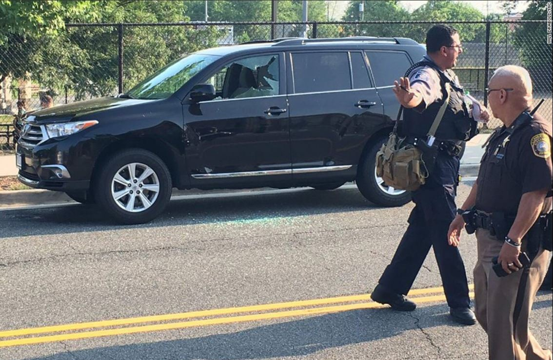 Gunman dies after shooting at congressional baseball practice