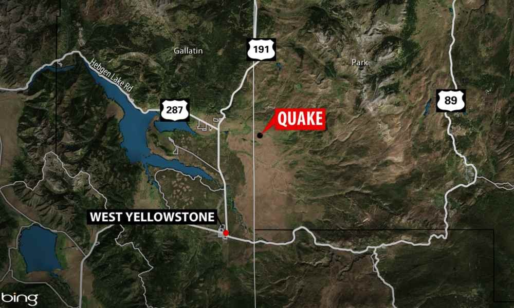 Earthquakes Continue To Shake The Area West Of Yellowstone National Park
