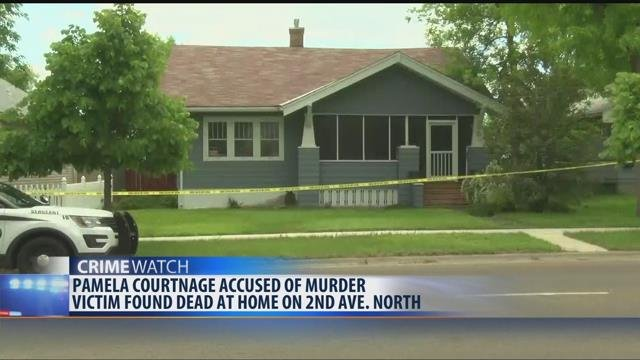 Officers were called to a house on 2nd Avenue North on May 26th after the body of a 69-year-old woman was found.