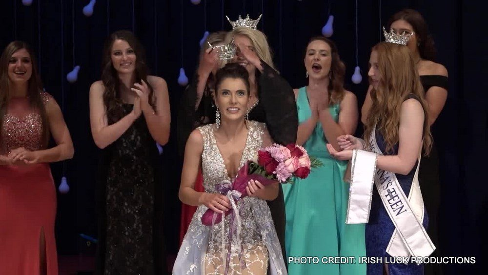 Madison Murray, 18, of Corvallis was crowned Miss Montana 2017 on Saturday in Glendive.