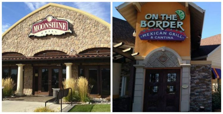 The Shoot The Moon restaurant and the On The Border restaurant in Great Falls have closed. (MTN News/David Sherman photos)