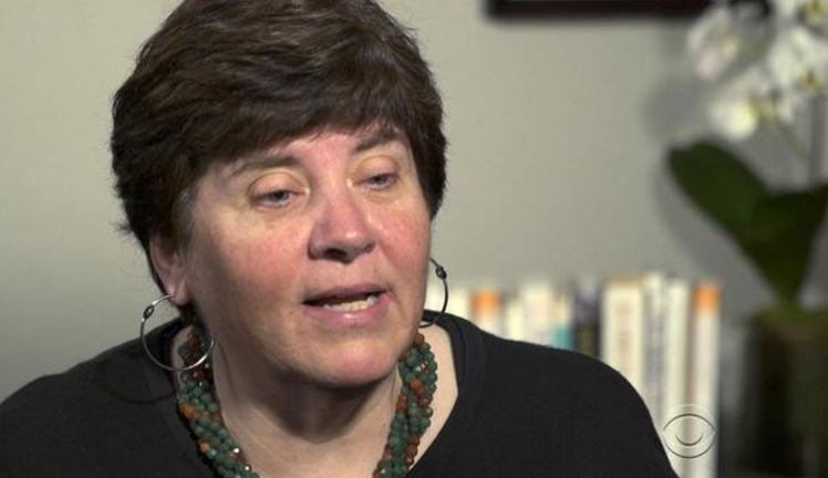 KC Maurer suffered a heart attack when she was 40 years old. CBS NEWS