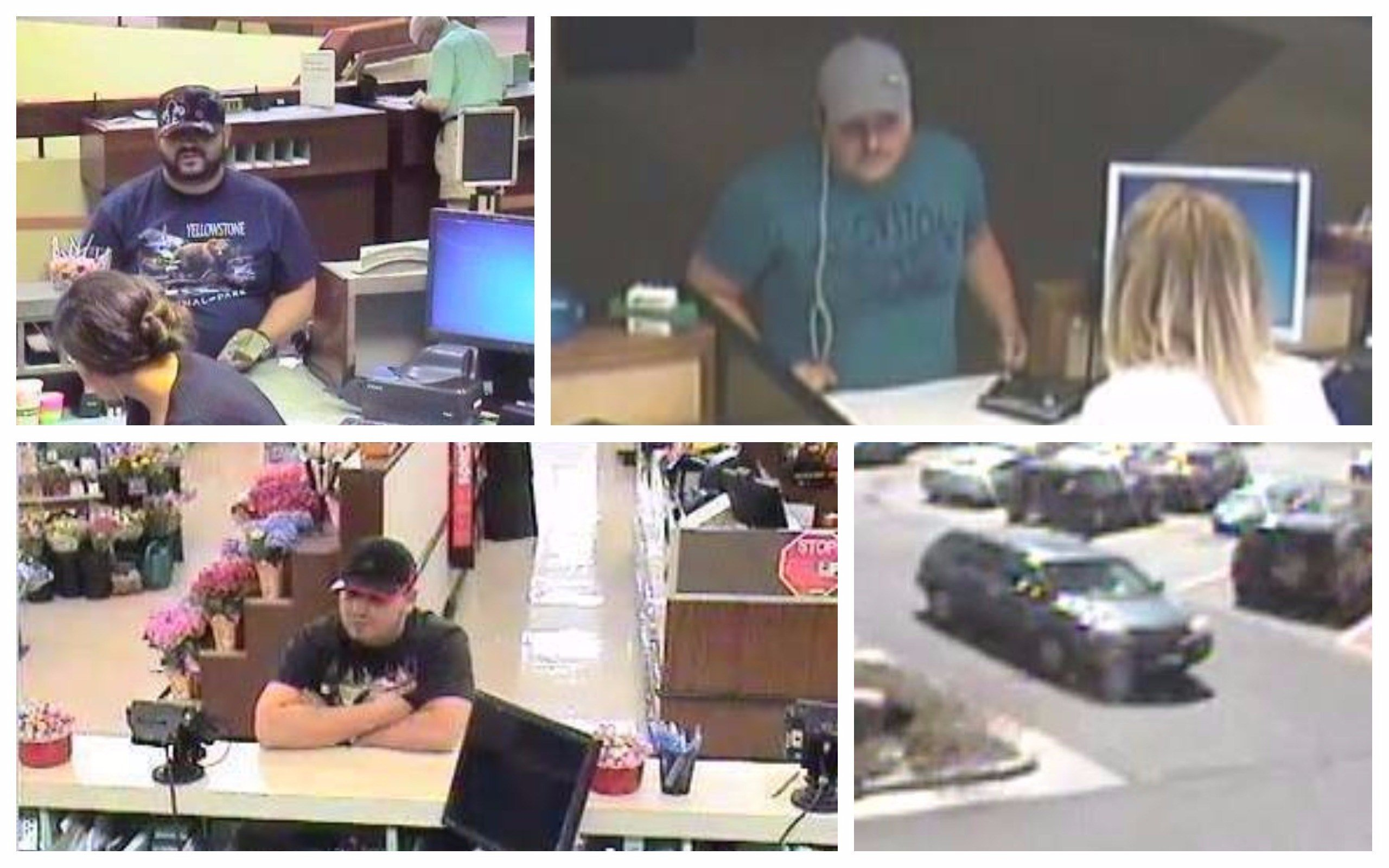 The suspects got away with $7,500 (Cody Police Department)