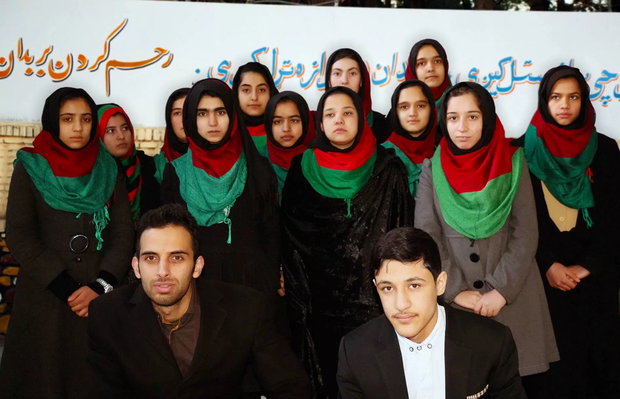 Afghanistan's all-girl robotics team banned from going to United States for competition