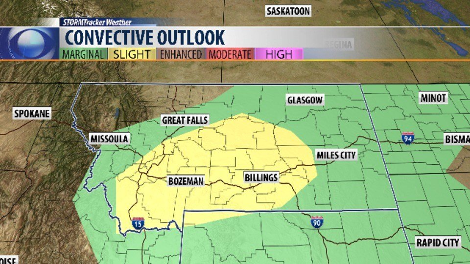 Severe storm warning issued as periodic showers, storms on tap throughout week