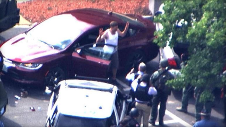 Ax-wielding man prompts standoff outside radio studio after song request