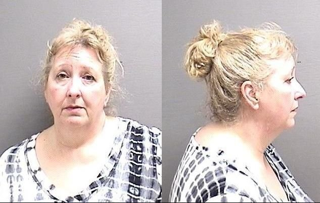 Reann Rothwell (Cascade County Detention Center booking photo)