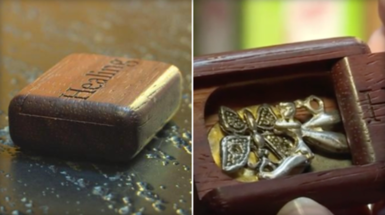 Cathy Greiner took to Facebook when she realized a wooden box that belonged to her daughter was stolen. (KWTX)