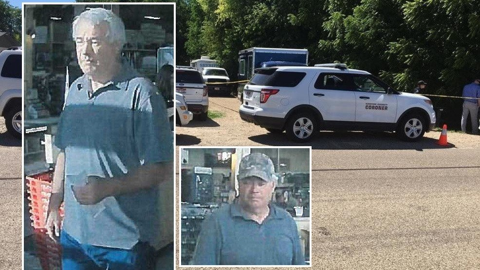 Manhunt on for murder suspect in forest