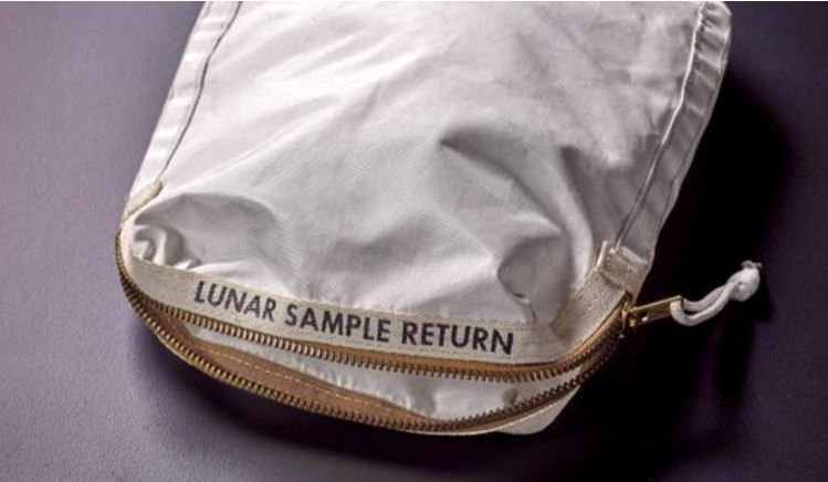 Apollo 11 moon dust bags $1.8 M