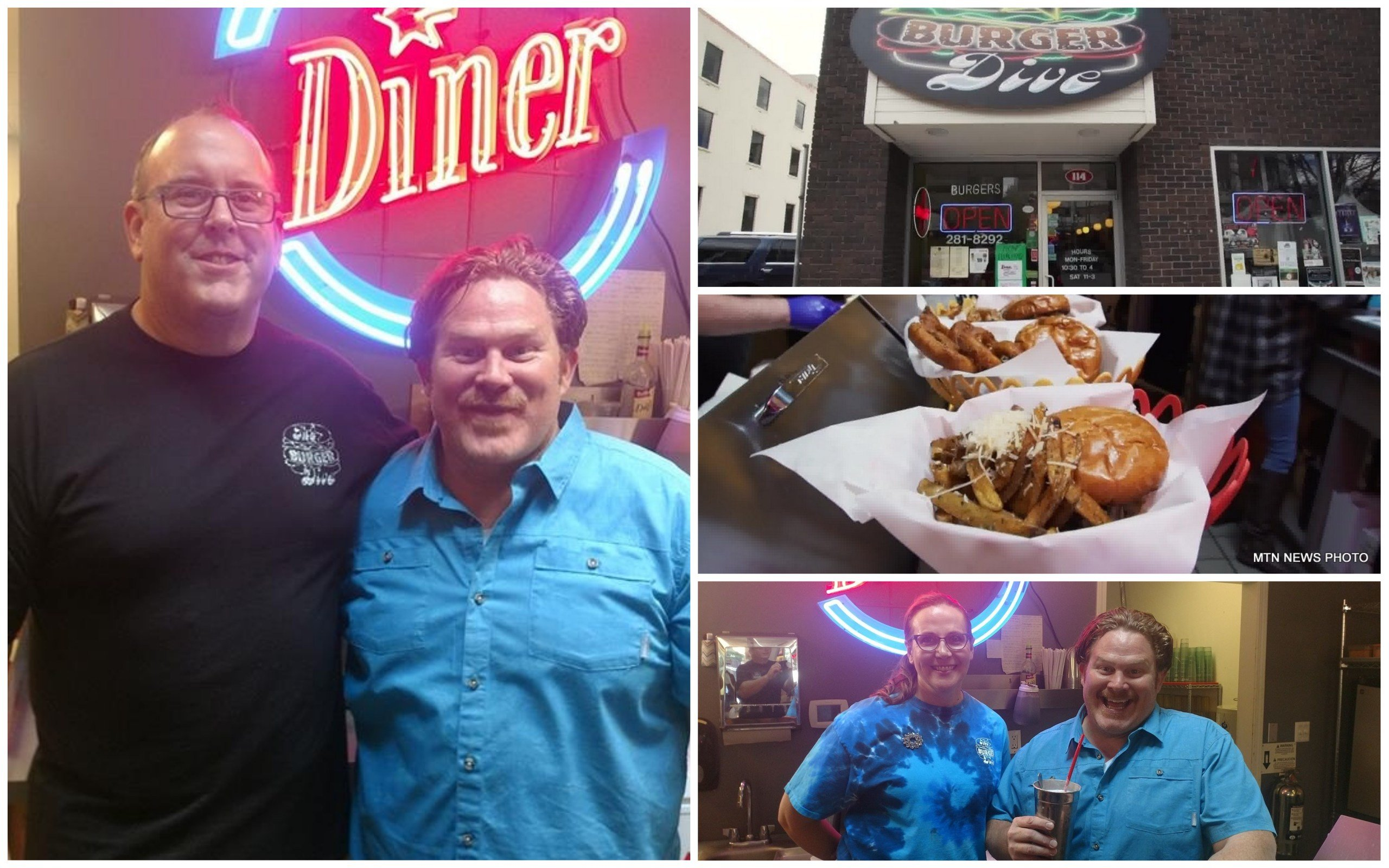 "The Burger Dive in Billings will be featured on the upcoming season of ""Man Vs. Food"" (MTN News Photo)"