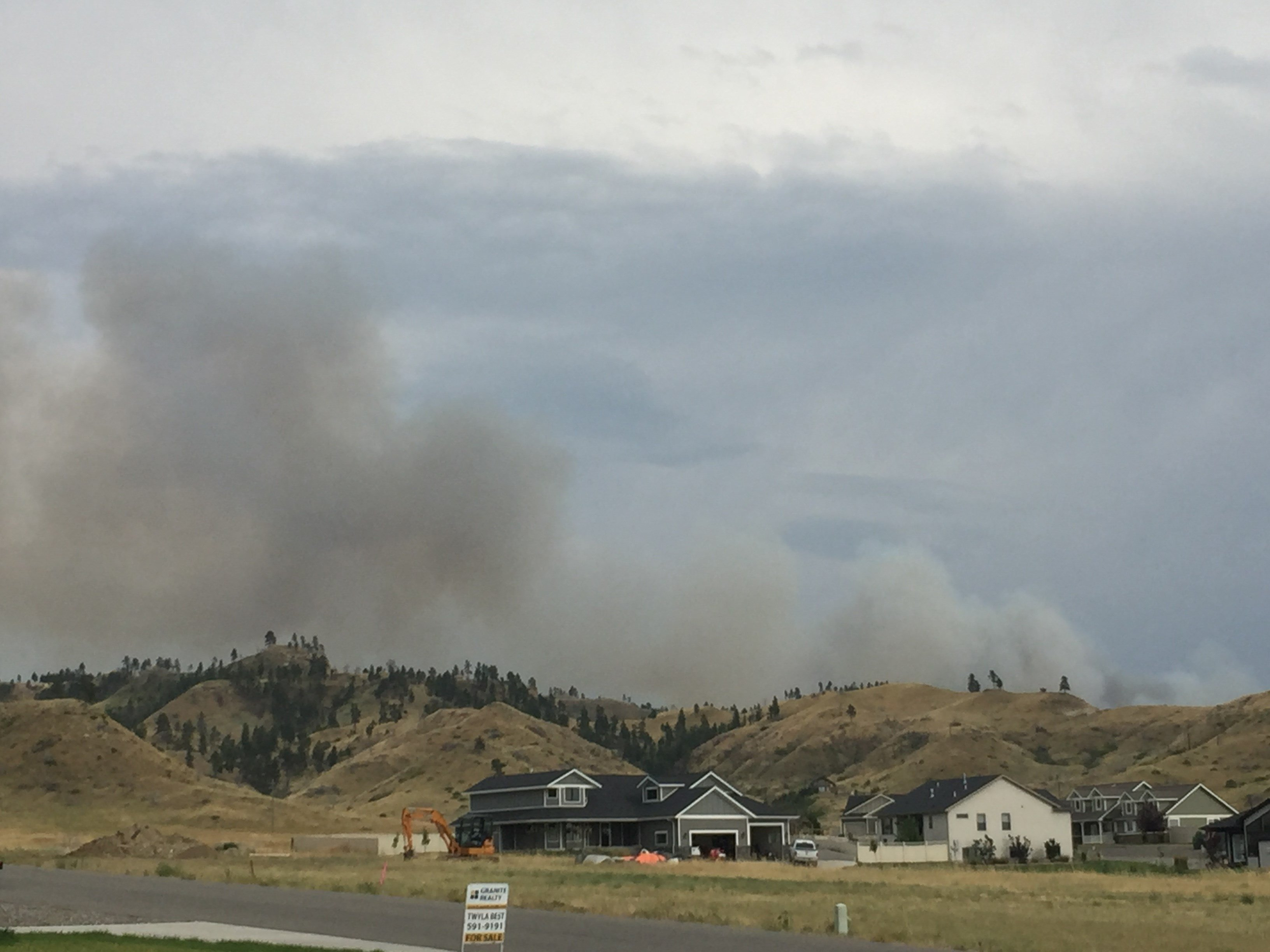 Montana firefighter killed fighting forest fire