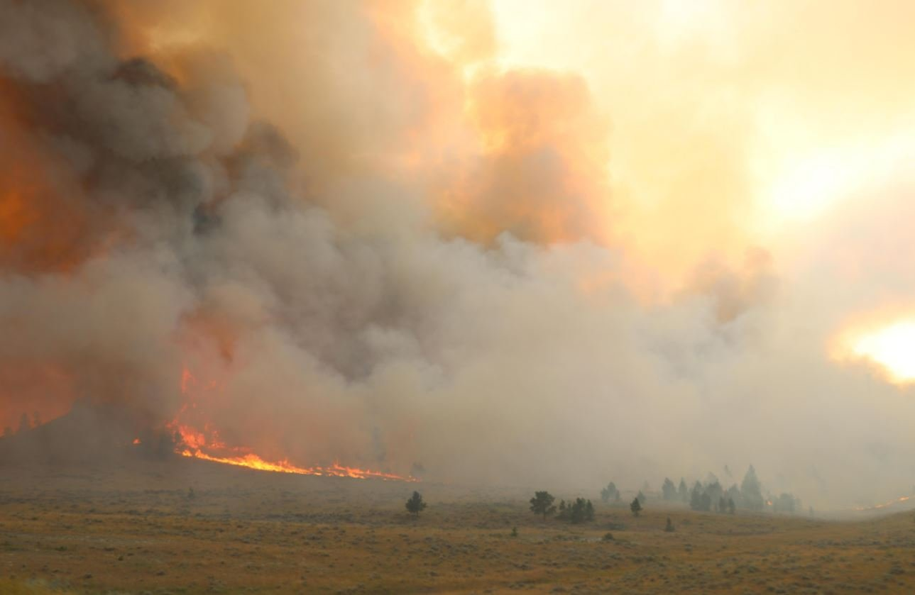 The Lodgepole Complex consists of four fires burning in eastern Montana. (BLM photo)