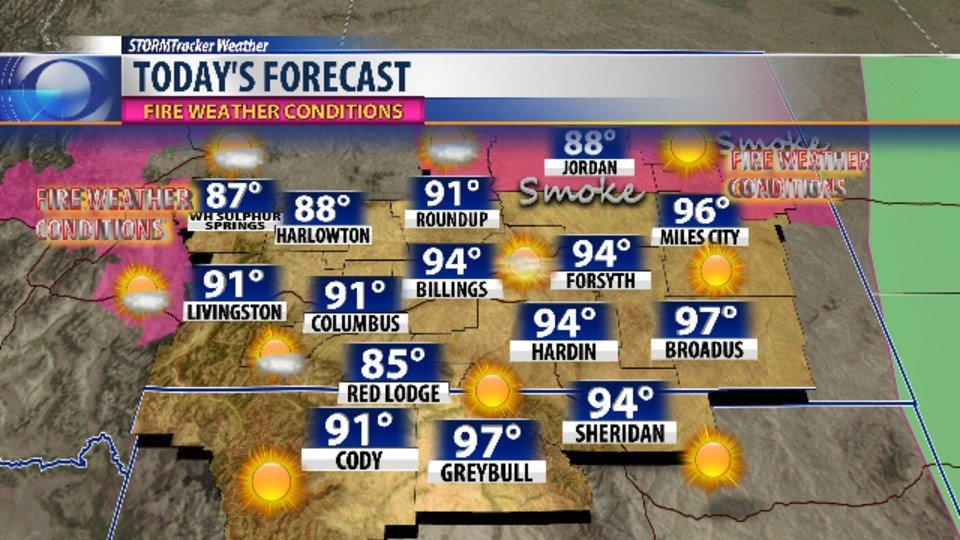 Forecast: Cooler, drier air moves in; decent chance of rain by Wednesday