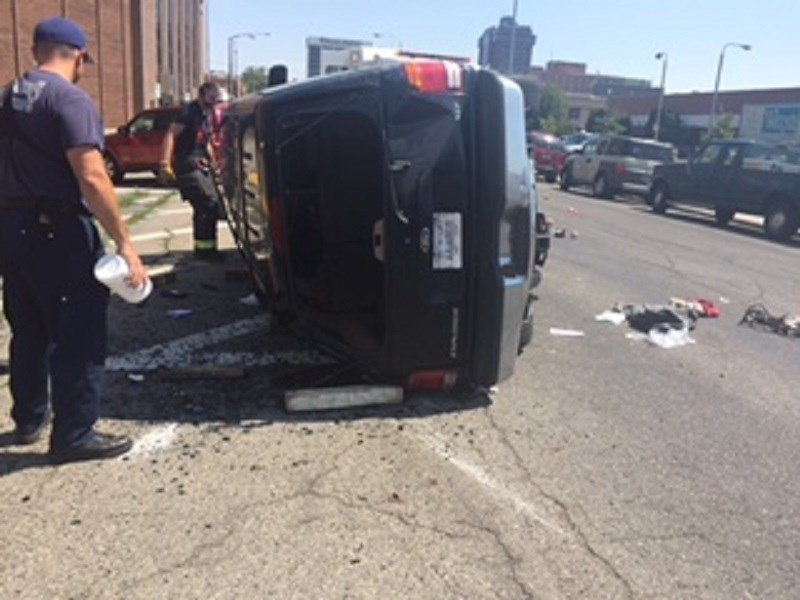 The baby was pinned under the SUV (MTN News)