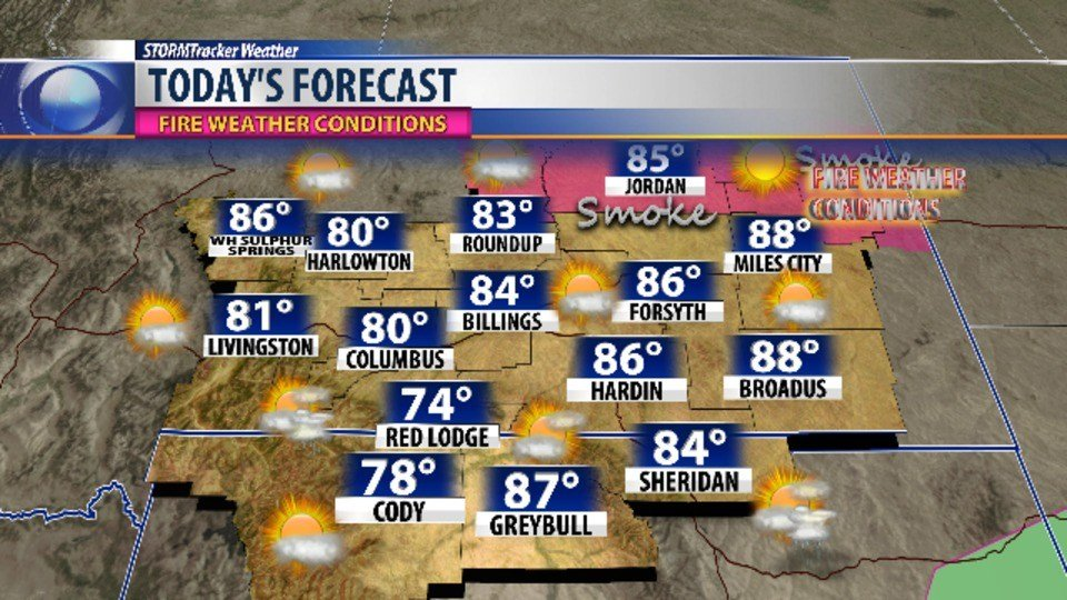 Friday forecast: rain likely to stick around, high 84