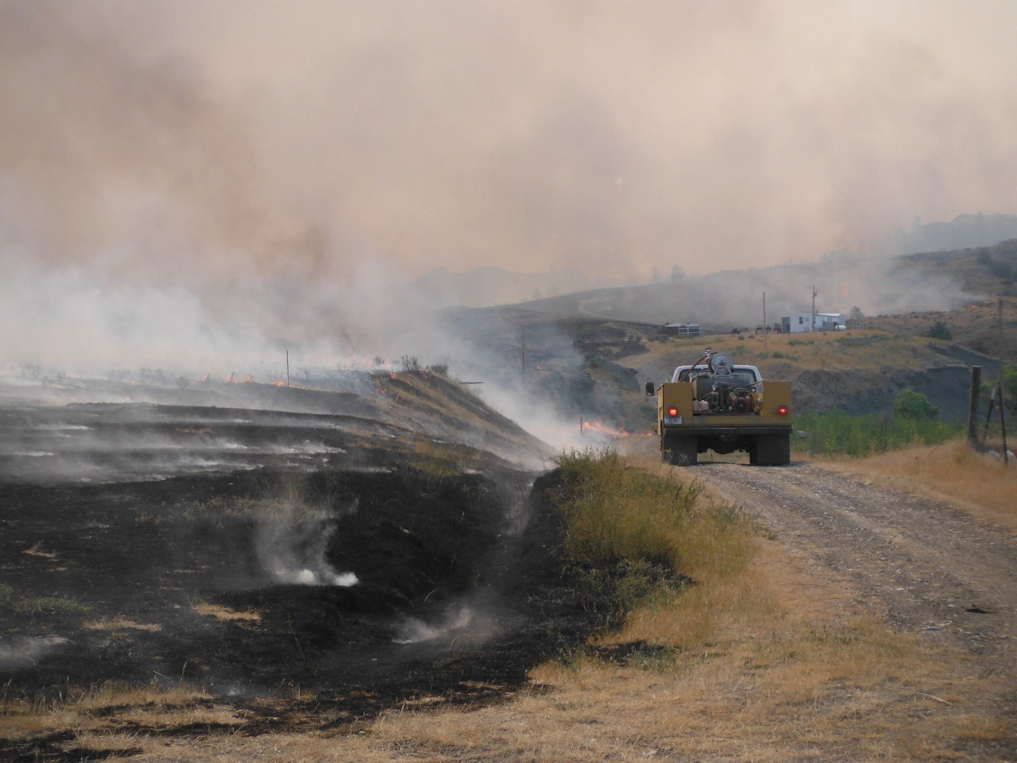 Containment increases on Lodgepole Complex of fires