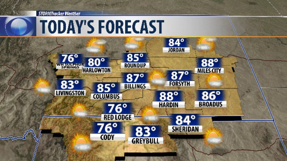 Rain chances return for Thursday, with warm temperatures