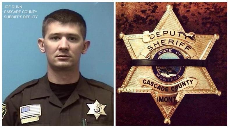 Cascade County Sheriff's Deputy Joe Dunn