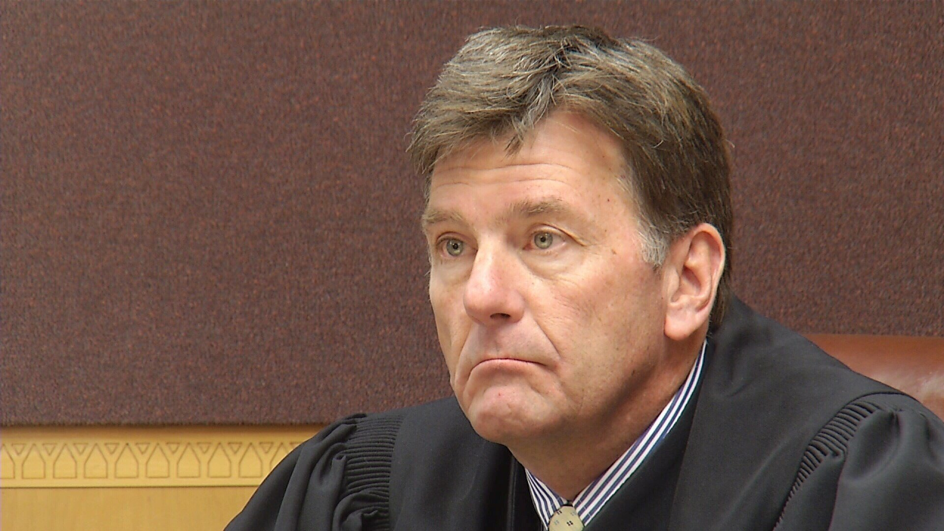 Seven people have submitted applications to replace District Court Judge Russell Fag pictured above. (MTN News file photo)