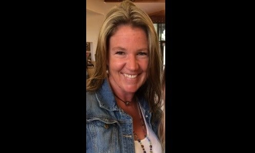 Sarah Sheldon's license was suspended last month (LinkedIn)