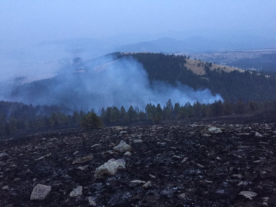 Evacuation order continues for Holmes Gulch Fire