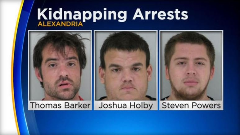 Three men are in custody for the alleged kidnapping and assault of a Minnesota teen.  WCCO-TV