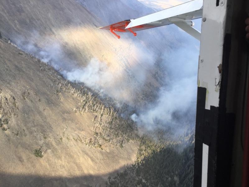 Blacktail Fire (Photo courtesy InciWeb)