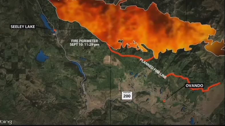 Rice Ridge fire (MTN News)